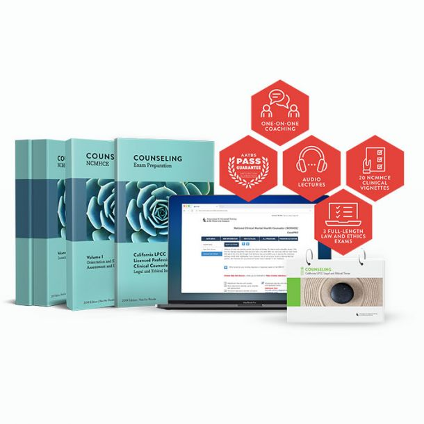 California Counseling Exams Bundle