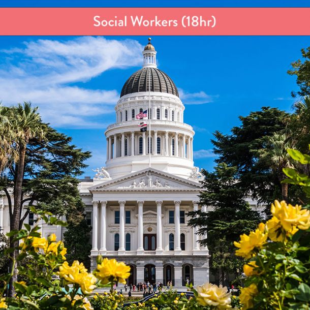 California Laws & Ethics for Social Workers (18 hr Pre-Licensure Course)