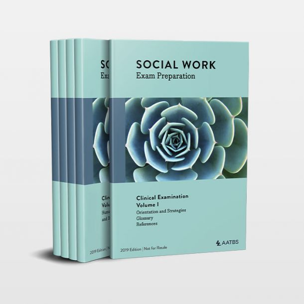 Social Work Exam Study Volumes