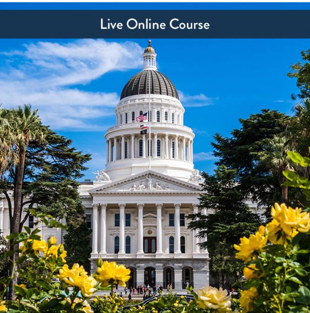 CA Law & Ethics - Live Online (6hr CE)
