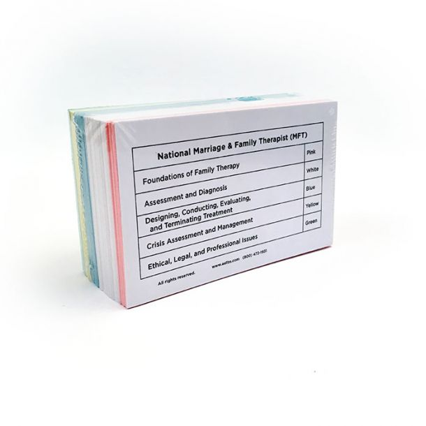 MFT Color-Coded Flashcards