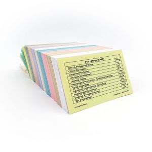 EPPP Color-Coded Flashcards